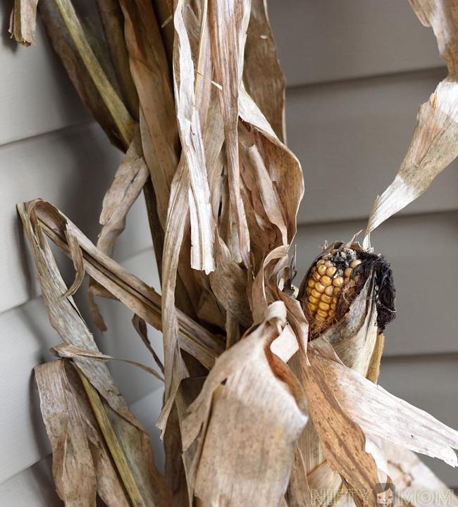 Corn Stalk Decoration Ideas: 5 Easy Fall Porch Decorations + DIY Fall Porch Sign