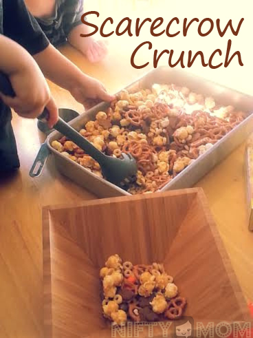 Scarecrow Crunch - Great for Cooking with Kids