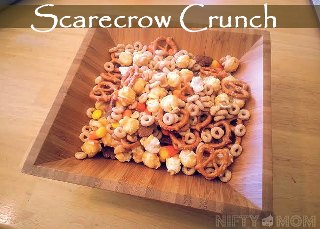 Scarecrow Crunch - Cooking with Kids
