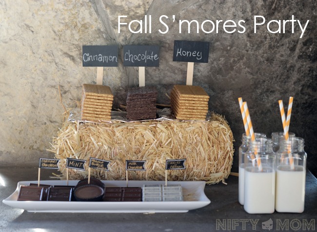 Fall S'mores Party