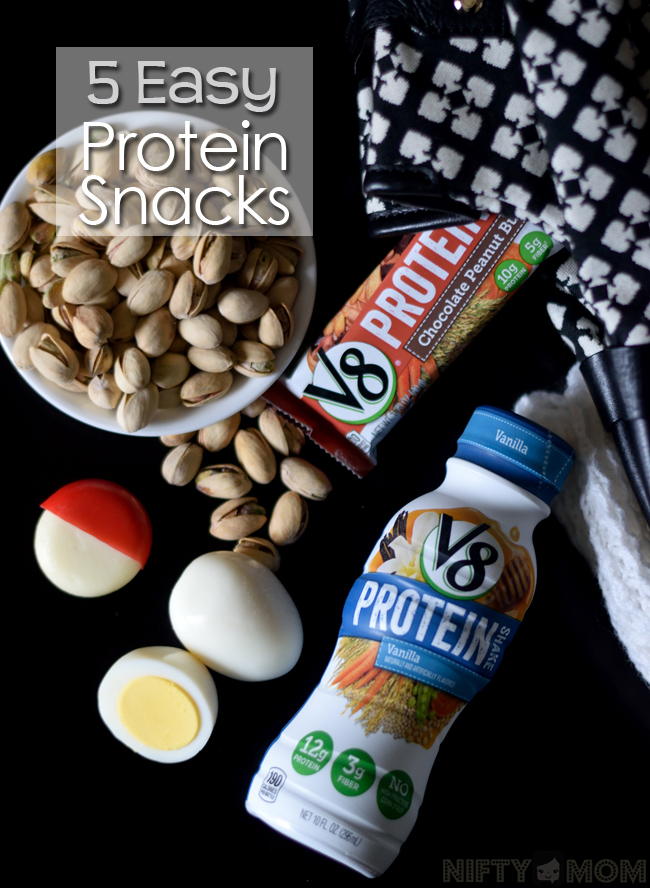 5 Easy Protein Snacks