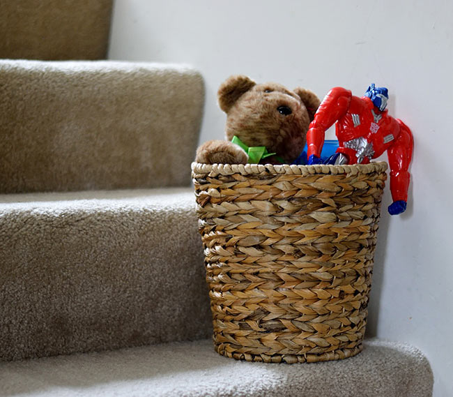 Catch-All Basket for Clutter