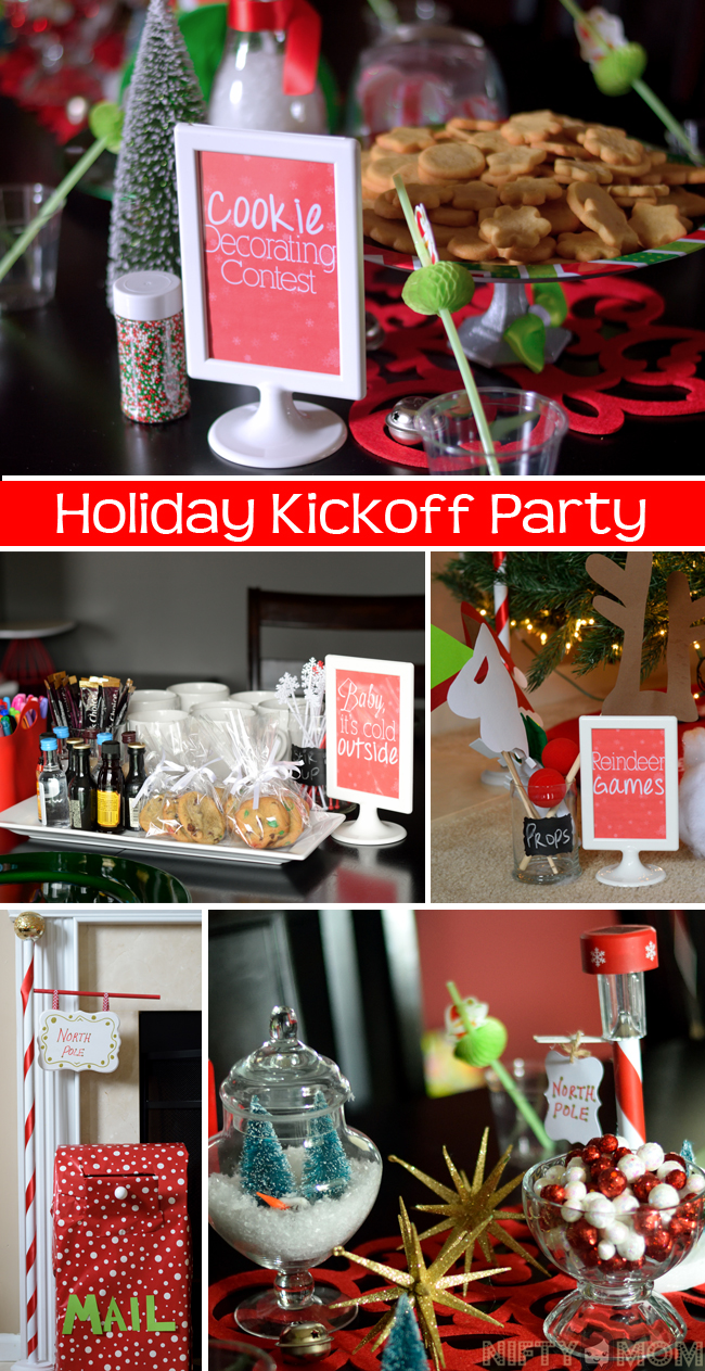 Holiday Kickoff Party Full of Fun Ideas for Kids and Adults