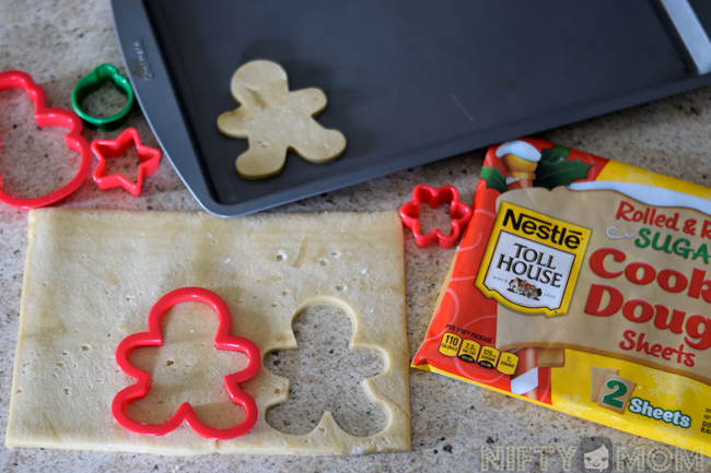 Nestle Rolled & Ready Sugar Cookie Sheets