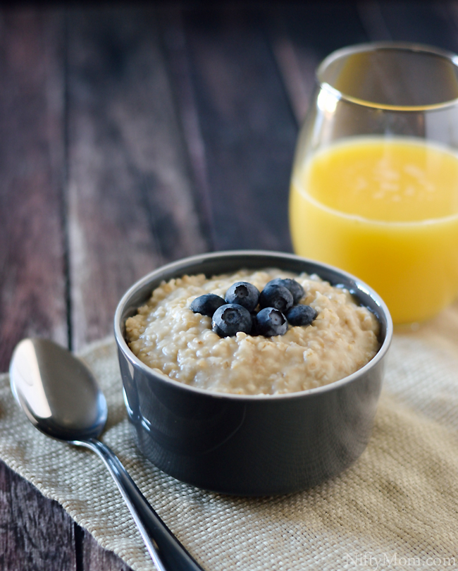 blueberries-oatmeal
