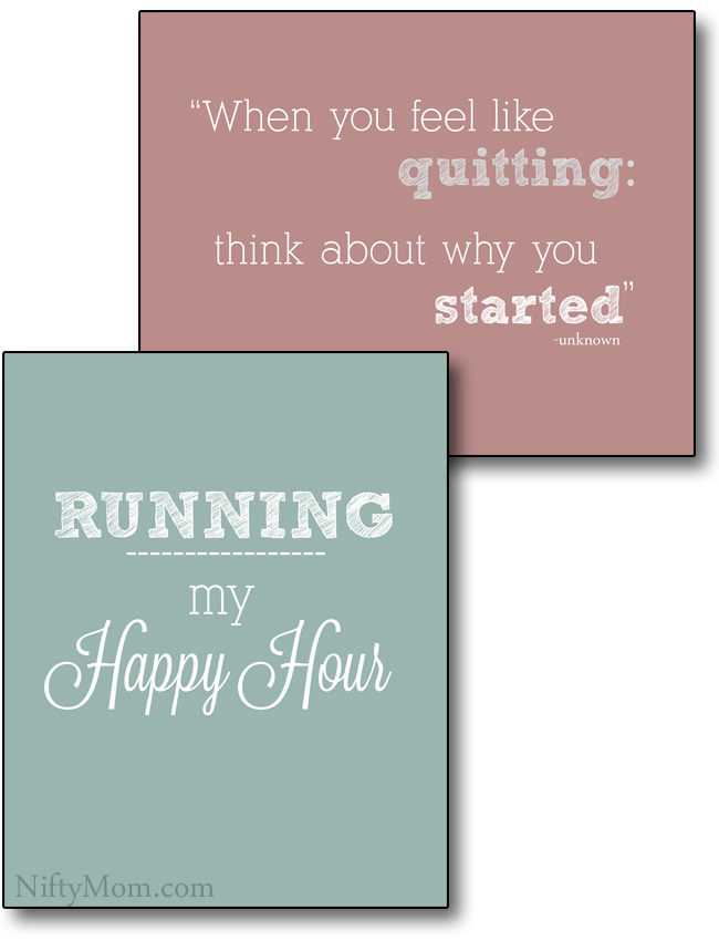 running-quotes-printable