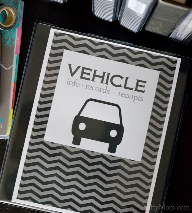 Vehicle Binder Cover