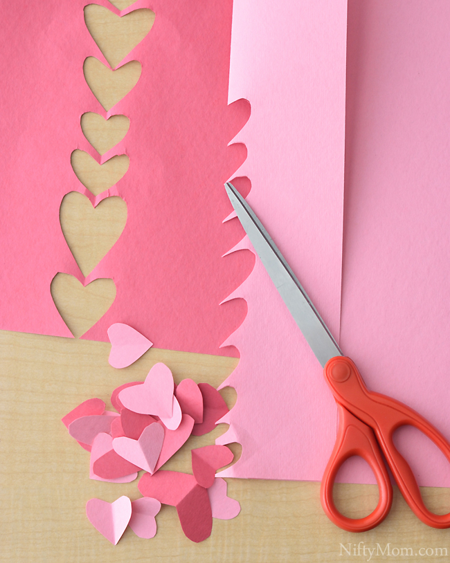 Heart Cutouts for Heart Tree Activity