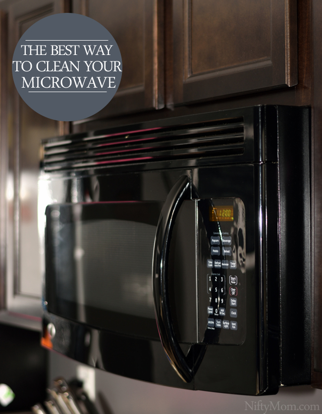The Best Way to Clean Your Microwave #ZepSocialstars
