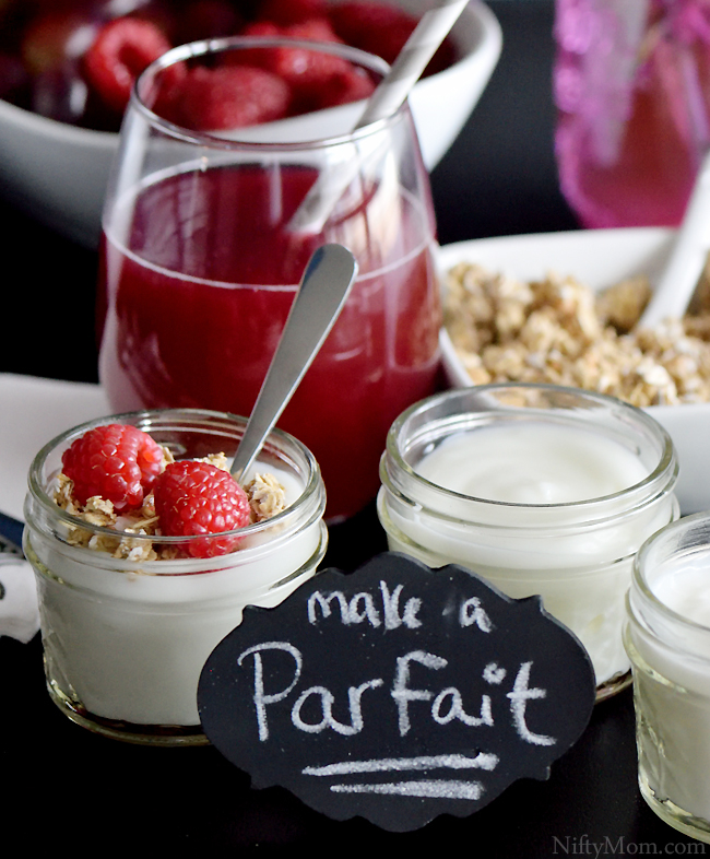 Brunch Mini Parfait Bar