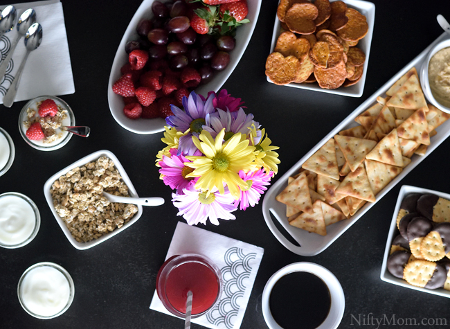 Casual Brunch with the Girls Food Spread Ideas