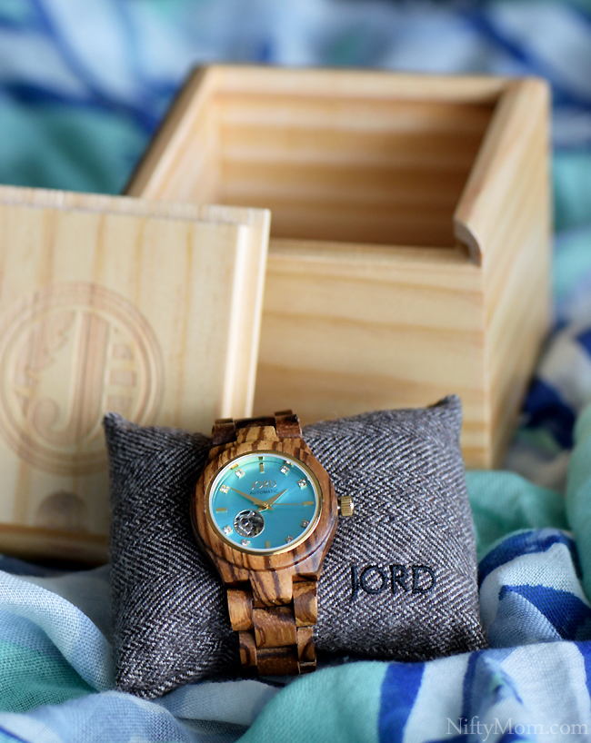 JORD Wood Watch Cora Series Packaging
