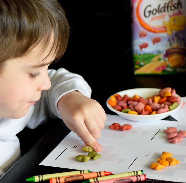 Snack Time Activities with Goldfish Crackers #GoldfishTales