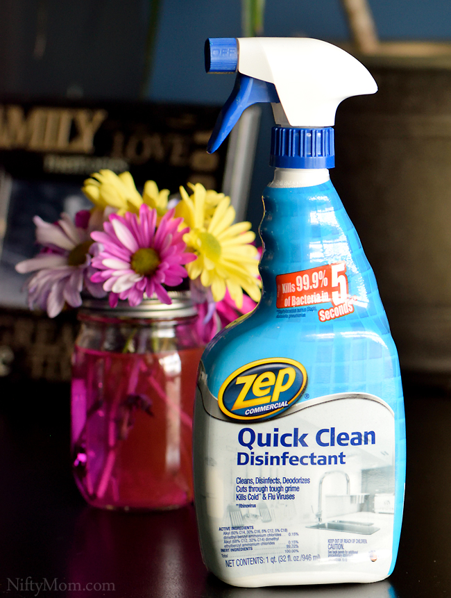 Zep Quick Clean Disinfectant #ZepSocialstars
