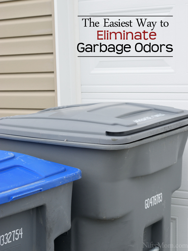 The Easiest Way to Eliminate Garbage Odors #ZepSocialstars