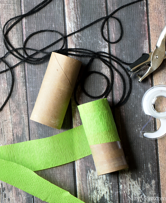 Turning a walk with kids into an adventure walk for Things to make with toilet paper rolls