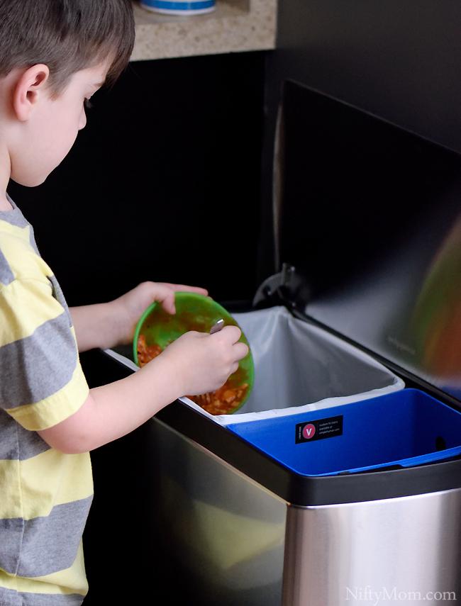 Controlling Garbage Odor Indoors