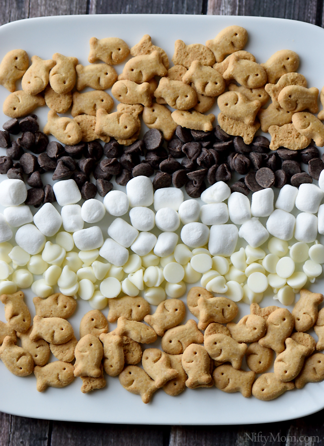 S'mores Snack Mix Ingredients #GoldfishTales