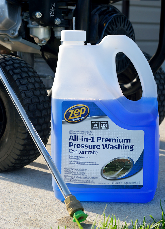 Zep All-in-1 Premium Pressure Washing Concentrate #ZepSocialstars
