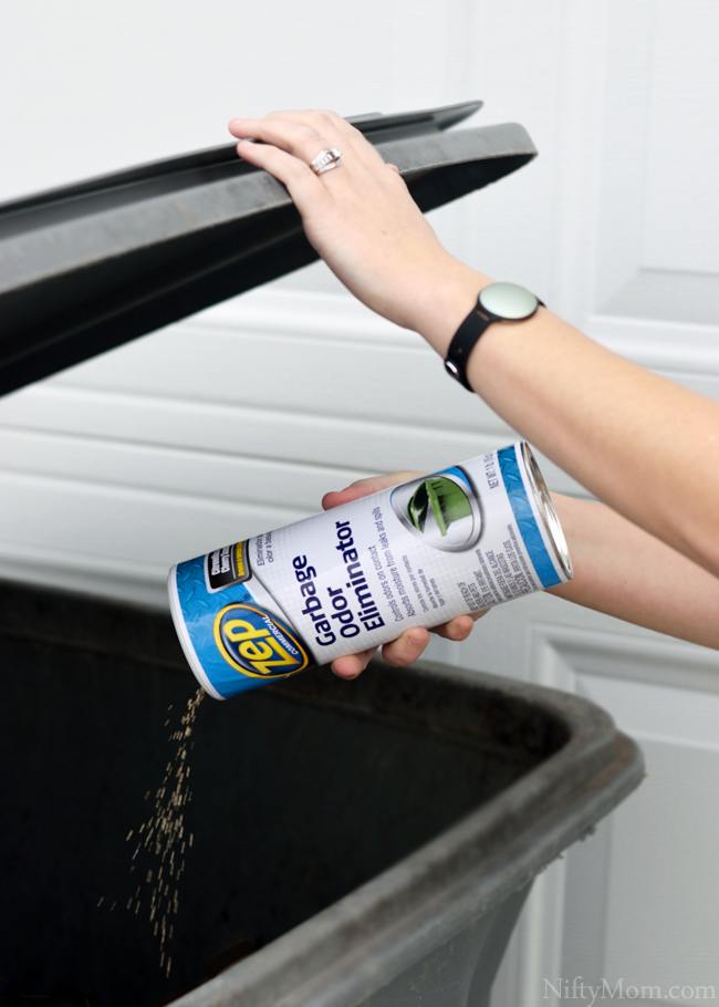 Zep Garbage Odor Eliminator for Outdoor Trash Cans #ZepSocialstars