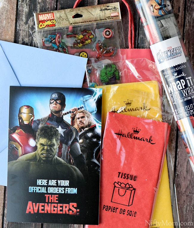 Hallmark Gift Ideas for Superhero Fans #SendSmiles