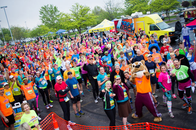 Start Line at 2015 That 80's Run