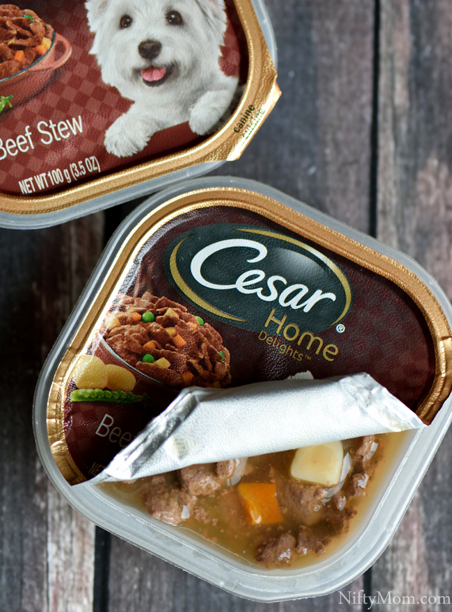 Cesar Home Delights Beef Stew #CesarHomeDelights