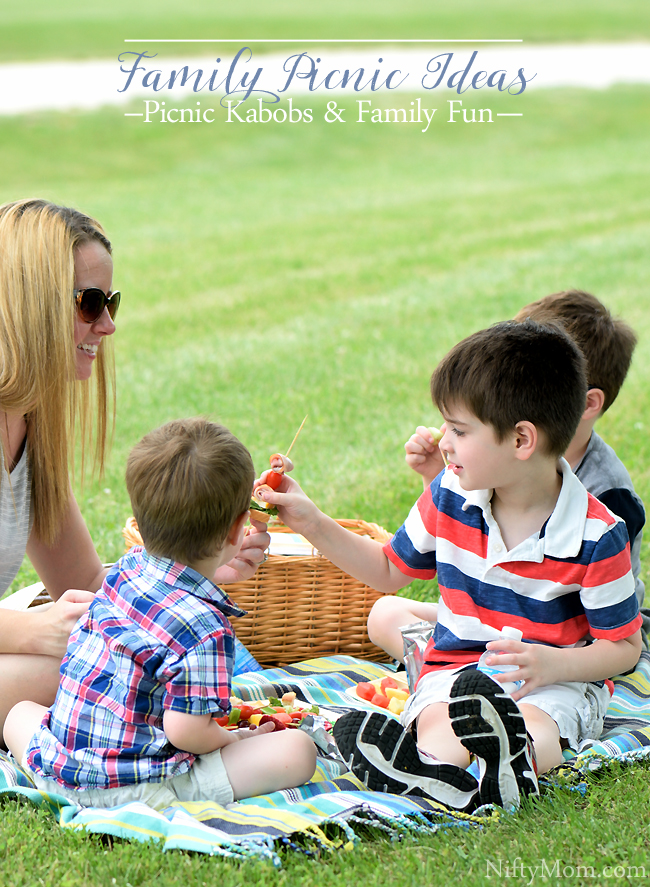 Family Fun Picnic Ideas with 3 Different Kabob Ideas & Picnic Necessities #BestSummerEver