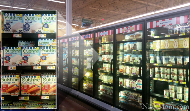 Outshine Bars at Walmart #OutshineSnacks