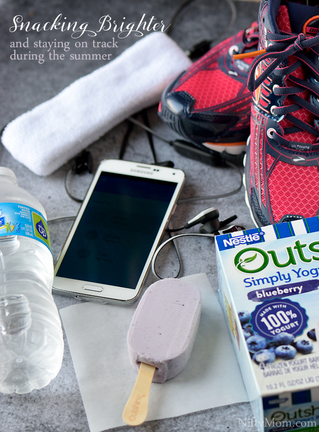 Snacking Brighter & Staying on Track During the Summer #OutshineSnacks