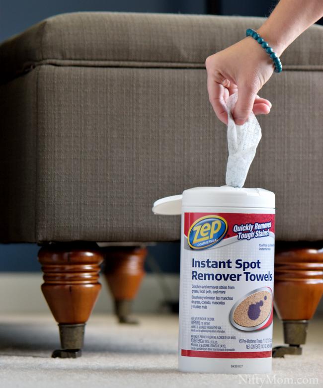 Zep Commercial Instant Spot Remover Towels #ZepSocialstars