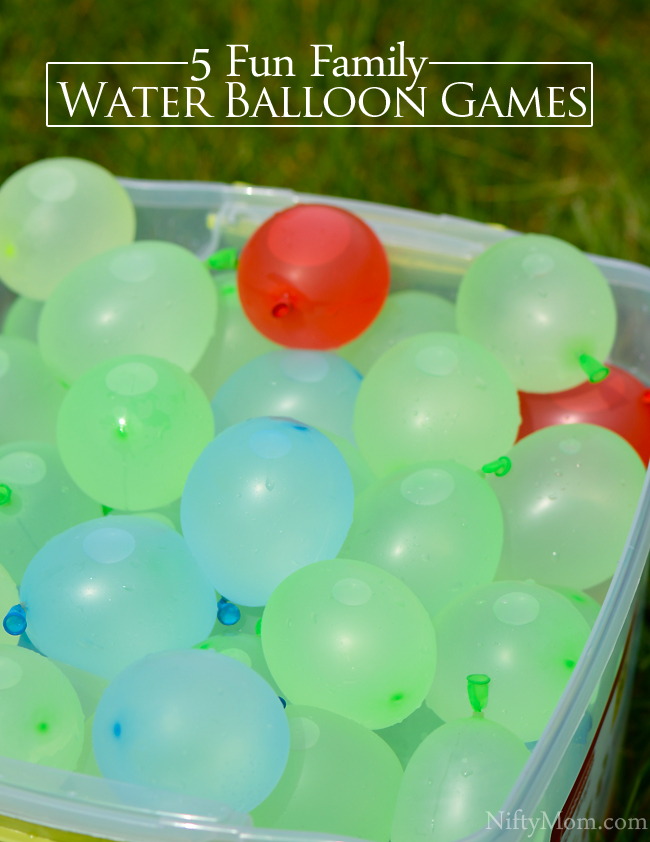 5 Fun Water Balloon Games for the Whole Family