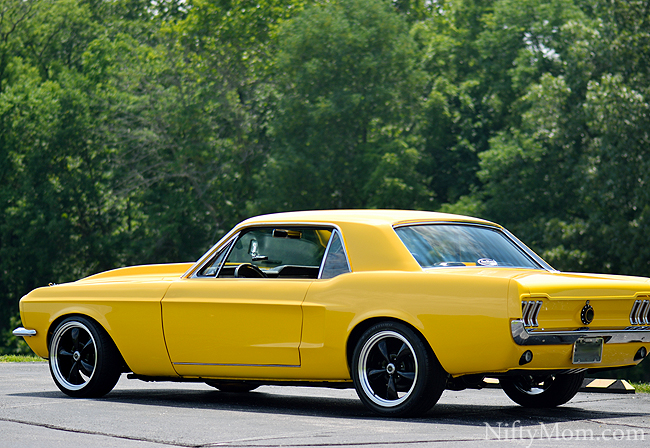 67 Ford Mustang After Full Restoration and Customization