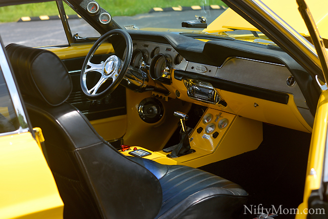 67 Ford Mustang Customized Interior