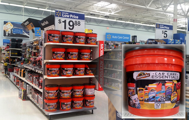 Armor All Car Care Essentials Gift Bucket at Walmart