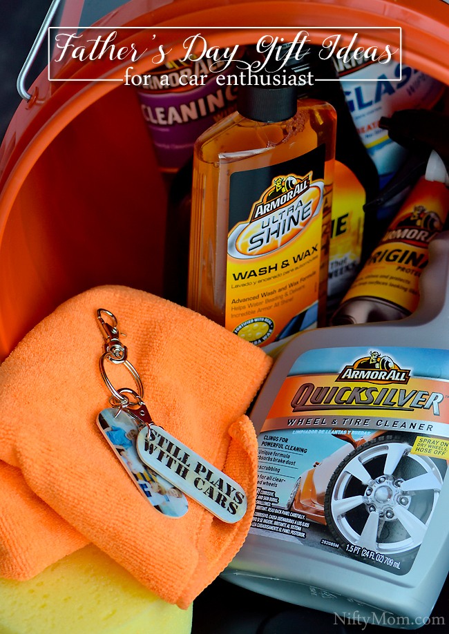 Father's Day Gift Ideas for Car Enthusiasts #TheGiftofClean