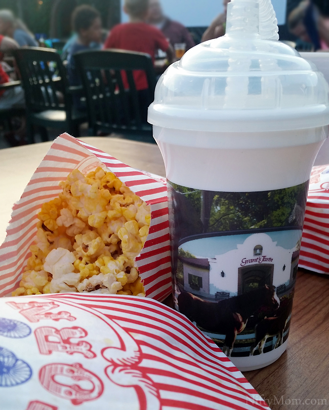 Included Popcorn & Drinks at Grant's Farm Movie Night