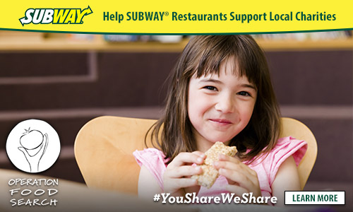 """Subway """"You Share. We Share."""" Campaign"""
