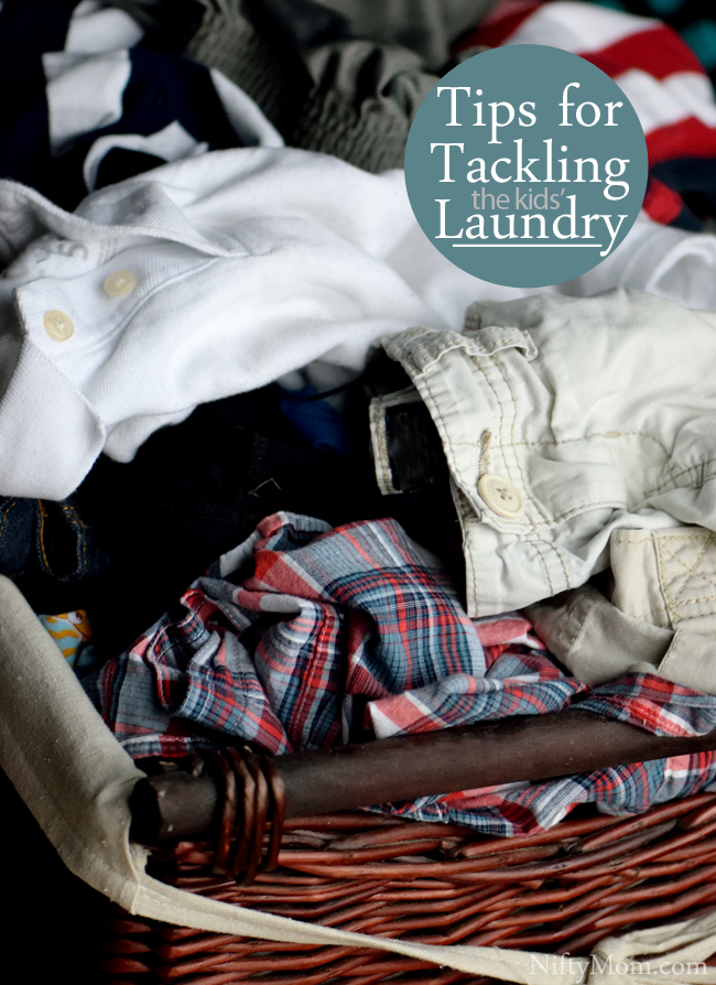 Tips for Tackling the Kids' Laundry
