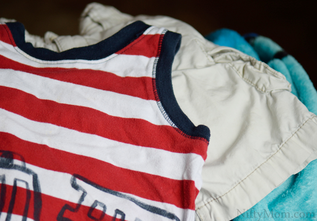 Stain-Free Clothing after OxiClean Wash