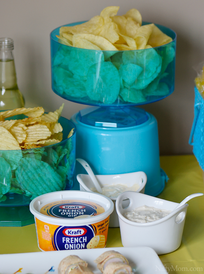 Kraft Dips for a Summer Party #DipYourWay