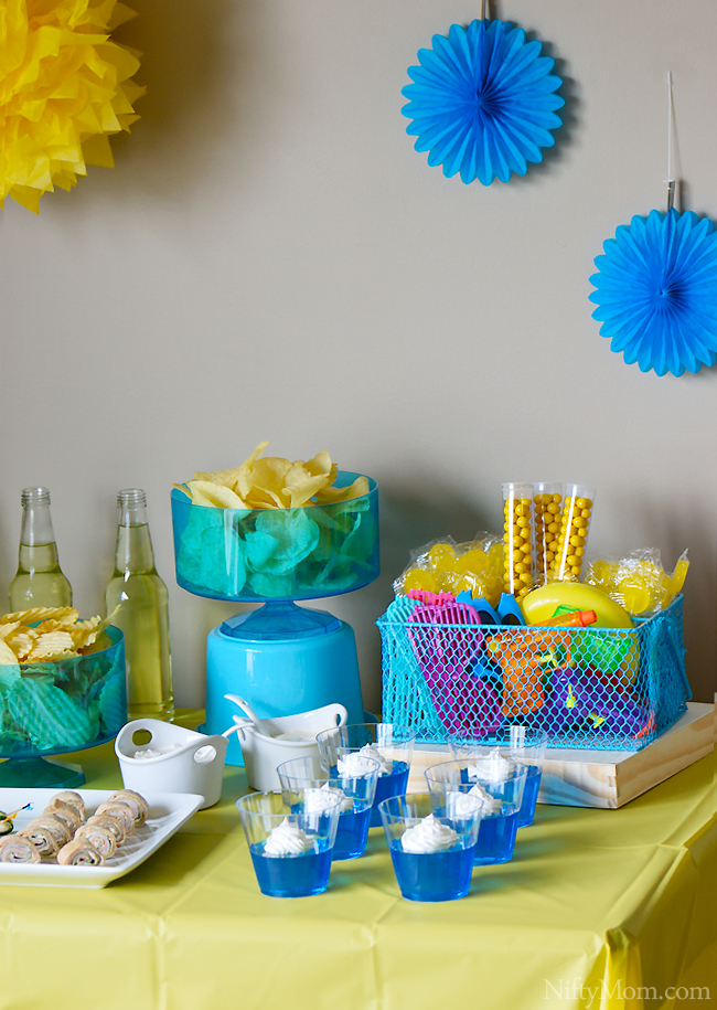 Planning a Summer Party Indoors #DipYourWay
