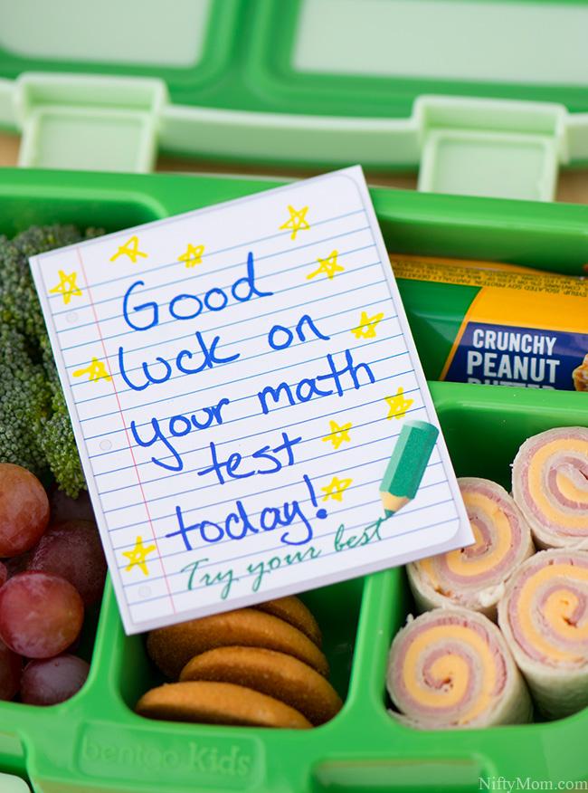 Printable Lunchbox Note Cards #TeamJif