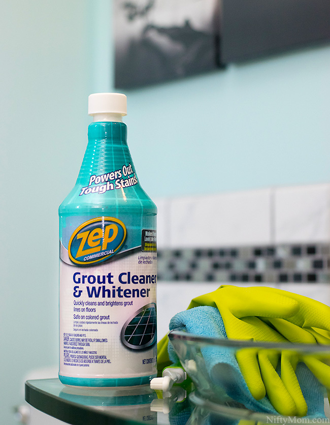 Zep Grout Cleaner and Whitener #ZepSocialstars