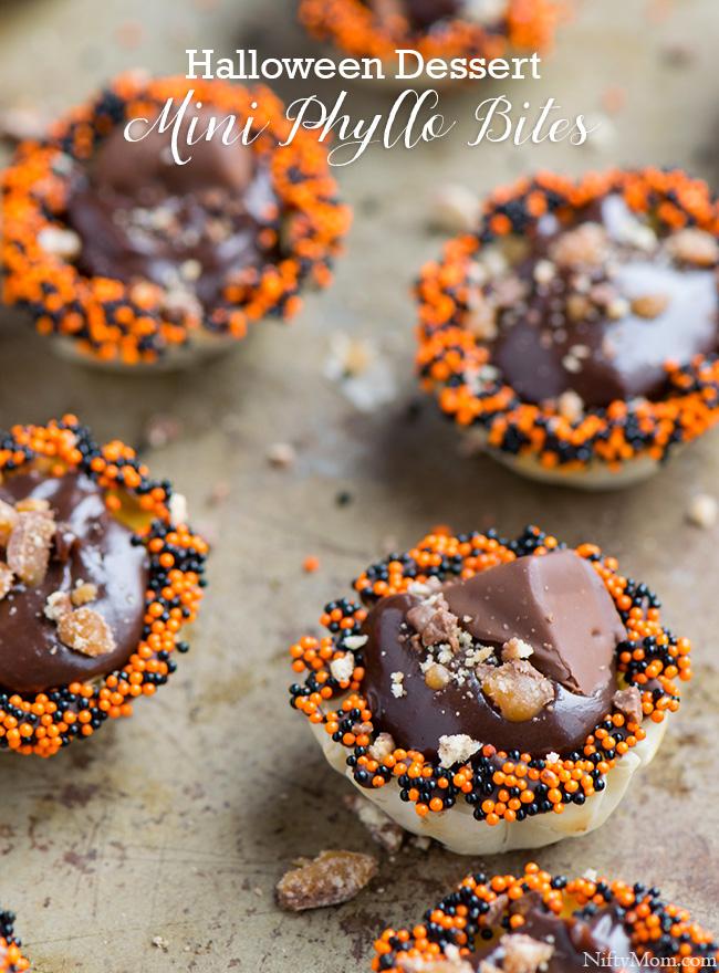 Mini Phyllo Bites for Halloween #BOOItForward