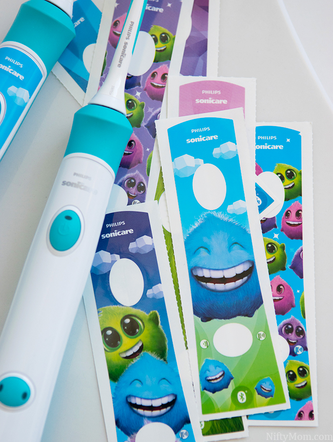 Philips Sonicare for Kids Handle Stickers