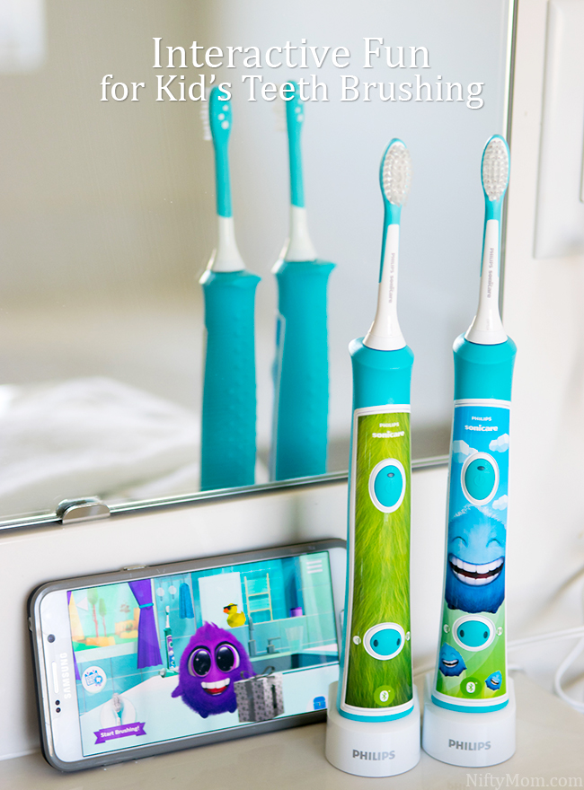 Interactive Fun for Kid's Teeth Brushing with Philips Sonicare for Kids