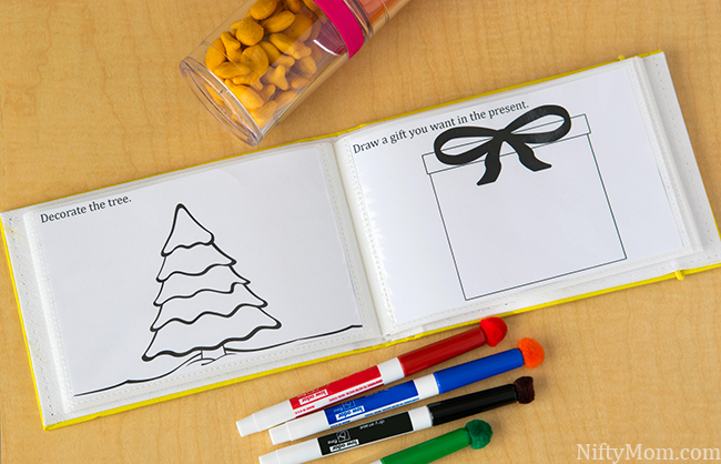 Holiday 4x6 Activity Printables #GoldfishCrowd