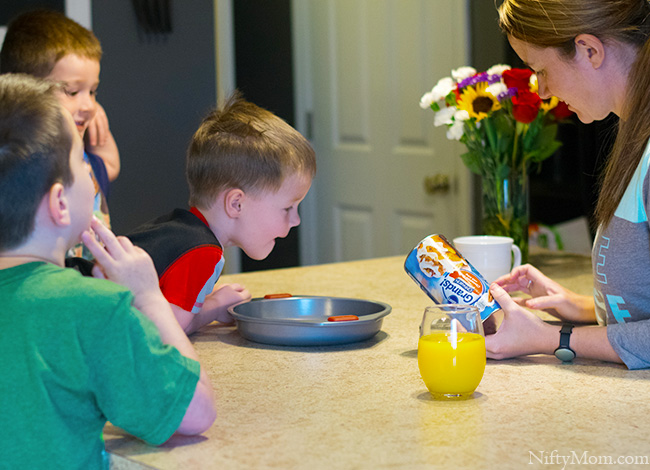 Weekend Breakfast with the Family and Pillsbury