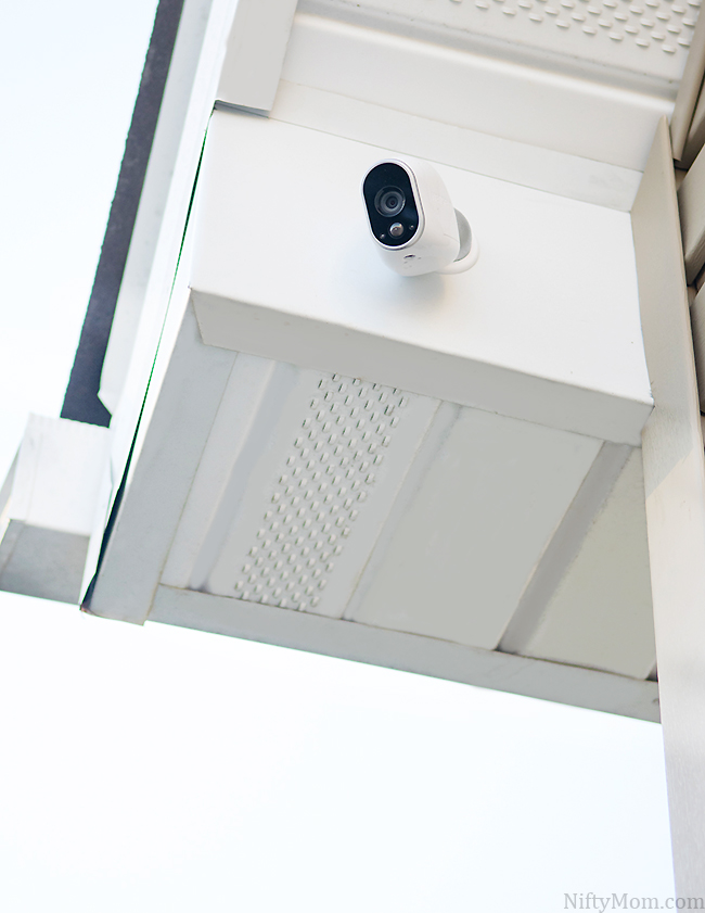 Arlo-camera-mounted-outdoors